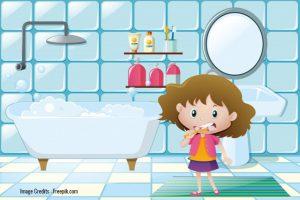 brush your teeth- female hygiene habits