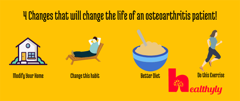 These 4 changes will change the life of an Osteoarthritis Patient.