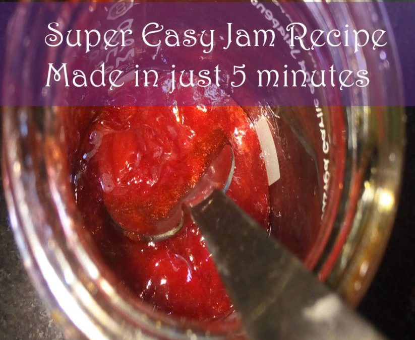 Super Easy Jam! Made in 5 minutes