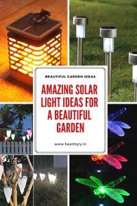 soalr light ideas for garden