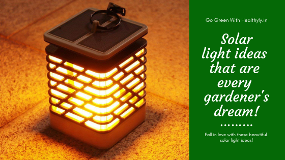 Amazing Solar Light Ideas To Turn Your Garden & Outdoor Area Into a Fairyland!