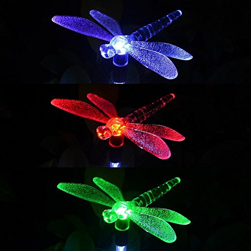 solar hummingbird lights for garden