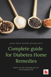 10 home remedies for blood sugar (herbs and spices)