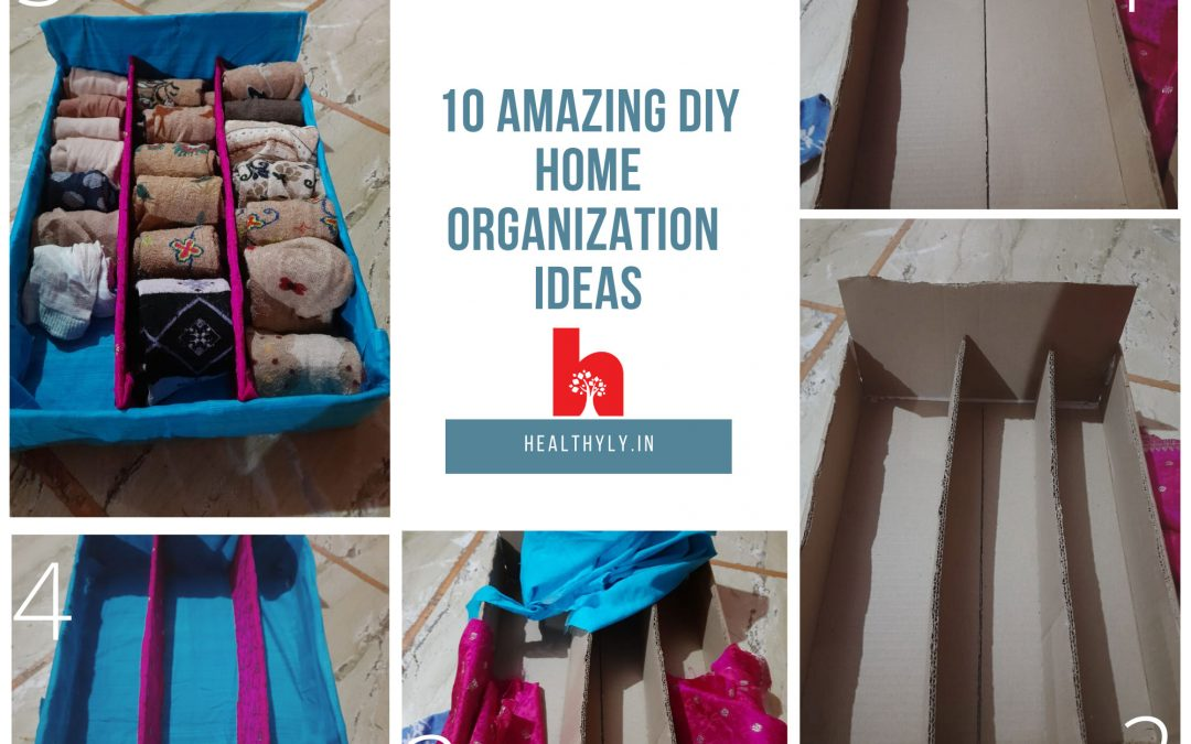 Socks organization DIY idea